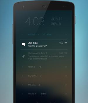 Echo Notification Lockscreen Ekran Görüntüleri - 4
