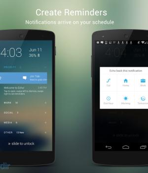 Echo Notification Lockscreen Ekran Görüntüleri - 2