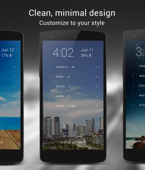 Echo Notification Lockscreen Ekran Görüntüleri - 1