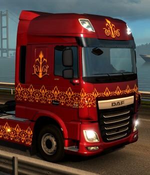 Euro Truck Simulator 2 - Turkish Paint Jobs Pack Ekran Görüntüleri - 2