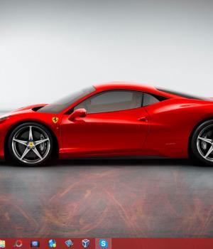 Ferrari Teması Ekran Görüntüleri - 2