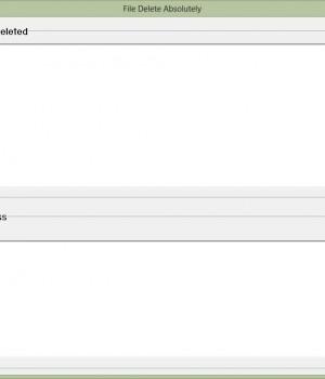 File Delete Absolutely Ekran Görüntüleri - 2