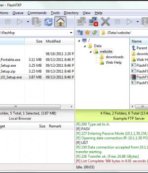 FlashFXP Ekran Görüntüleri - 5
