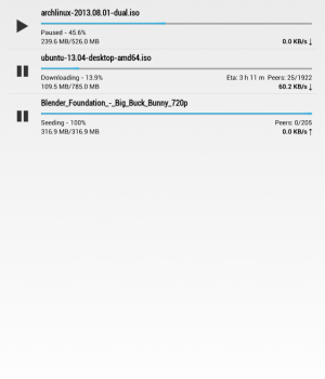 Flud - Torrent Downloader Ekran Görüntüleri - 7