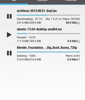 Flud - Torrent Downloader Ekran Görüntüleri - 6