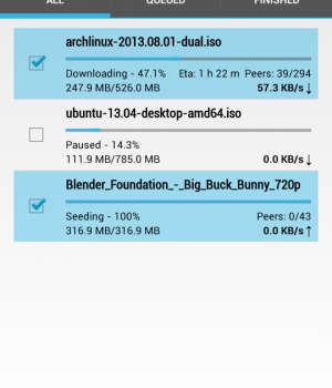 Flud - Torrent Downloader Ekran Görüntüleri - 5
