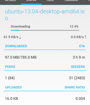 Flud - Torrent Downloader Ekran Görüntüleri - 4