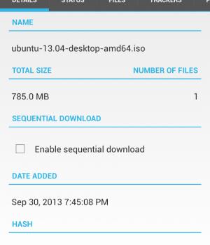 Flud - Torrent Downloader Ekran Görüntüleri - 3