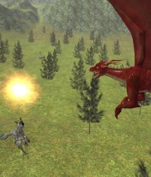 Flying Fire Drake Simulator 3D Ekran Görüntüleri - 1
