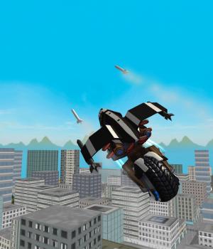 Flying Police Motorcycle Rider Ekran Görüntüleri - 3