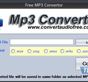Free MP3 Convertor Ekran Görüntüleri - 1