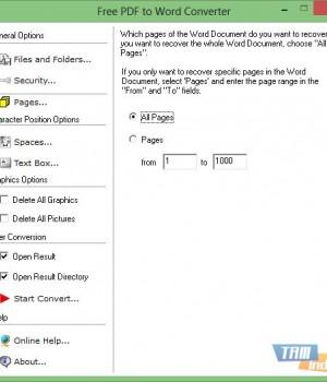 Free PDF to Word Converter Ekran Görüntüleri - 1