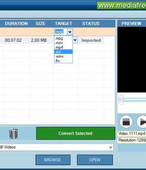Free Video File Converter Ekran Görüntüleri - 1