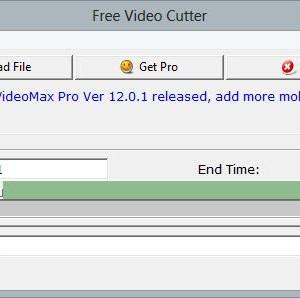 FreeStar Free Video Cutter Ekran Görüntüleri - 1