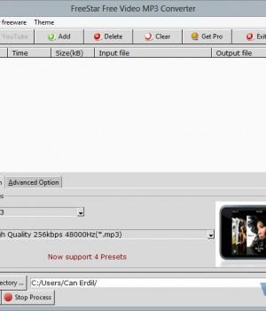 FreeStar Video MP3 Converter Ekran Görüntüleri - 2