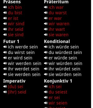 German Verbs Ekran Görüntüleri - 5