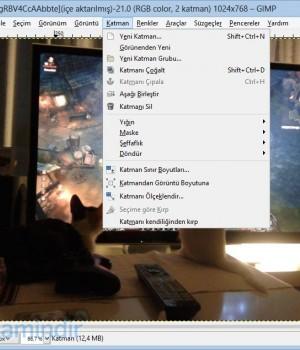 GIMP Ekran Görüntüleri - 2
