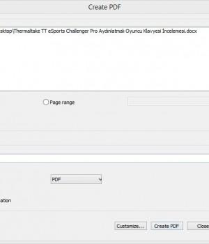 GIRDAC PDF Converter Ekran Görüntüleri - 1