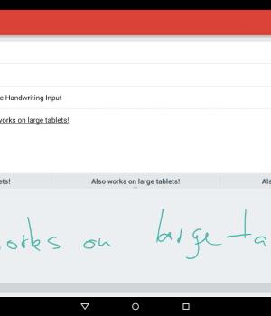 Google Handwriting Input Ekran Görüntüleri - 8