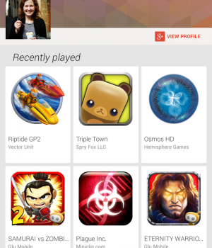 Google Play Oyunlar Ekran Görüntüleri - 1