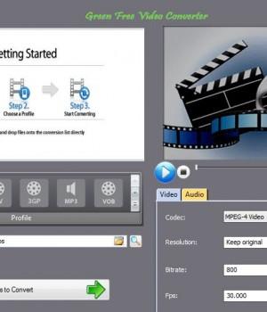 Green Free Video Converter Ekran Görüntüleri - 4