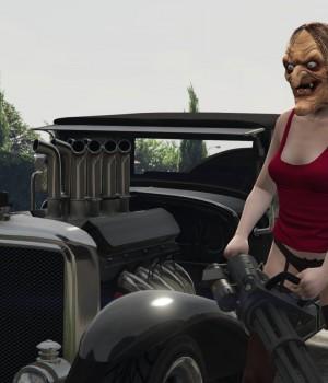 GTA 5 Cadılar Bayramı Modu Ekran Görüntüleri - 2