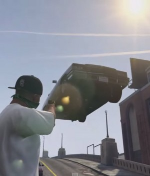 GTA 5 Gravity Gun Mod Ekran Görüntüleri - 2