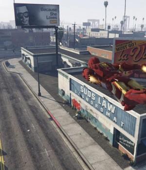 GTA 5 Iron Man Modu Ekran Görüntüleri - 2