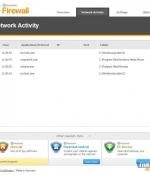Hauberk Firewall Ekran Görüntüleri - 1