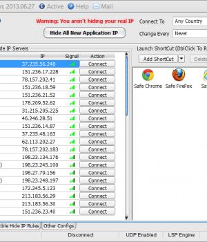 Hide ALL IP Ekran Görüntüleri - 1