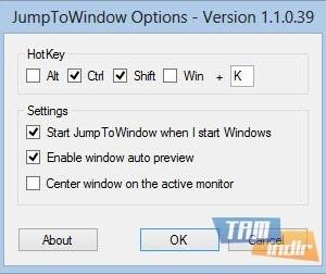 JumpToWindow Ekran Görüntüleri - 2