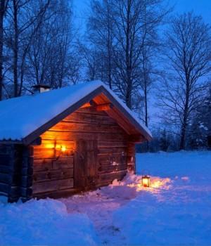 Karlı Gece Teması Ekran Görüntüleri - 3