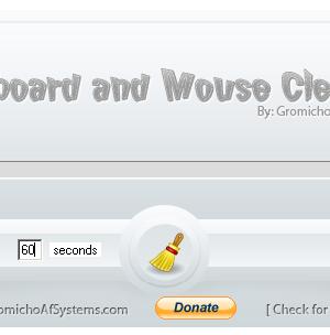 Keyboard and Mouse Cleaner Ekran Görüntüleri - 1