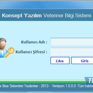 Konsept Veteriner Hekimliği Bilgi Sistemi Ekran Görüntüleri - 2