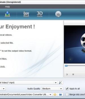 Leawo Video Converter Ultimate Ekran Görüntüleri - 1