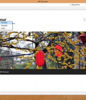 MK Browser Ekran Görüntüleri - 3