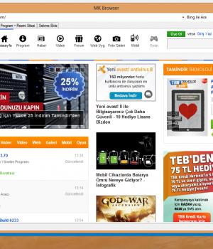 MK Browser Ekran Görüntüleri - 2