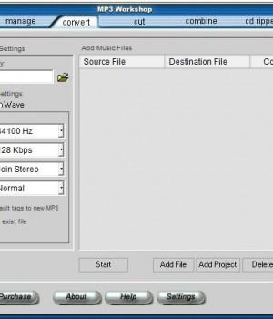 MP3 Workshop Ekran Görüntüleri - 4