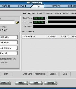 MP3 Workshop Ekran Görüntüleri - 3
