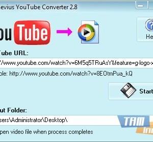Naevius YouTube Converter Ekran Görüntüleri - 1