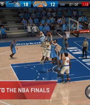 NBA Live Mobile Ekran Görüntüleri - 1