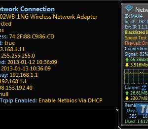 Network Meter Ekran Görüntüleri - 1