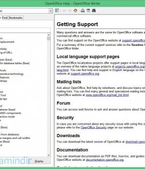 OpenOffice Ekran Görüntüleri - 4
