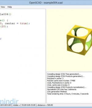 OpenSCAD Ekran Görüntüleri - 1