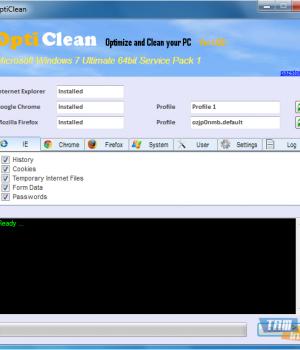 OptiClean Ekran Görüntüleri - 1