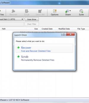Orion File Recovery Software Ekran Görüntüleri - 5