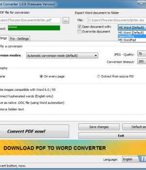 PDF2Word Converter Ekran Görüntüleri - 5