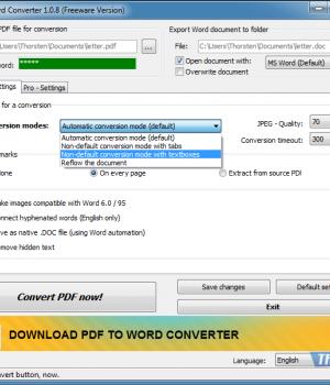 PDF2Word Converter Ekran Görüntüleri - 3