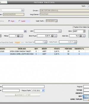 Perakende Satış Otomasyon Ekran Görüntüleri - 6