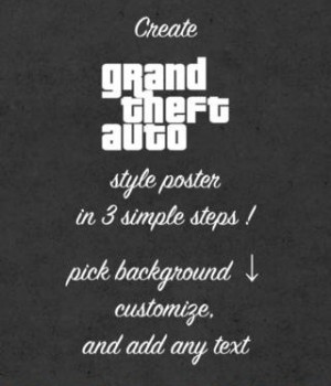 Poster Maker - Grand Theft Auto Edition! Ekran Görüntüleri - 4
